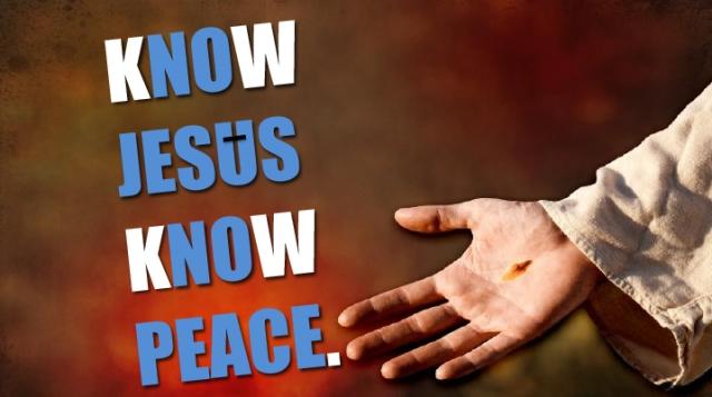 KNOW JESUS 1
